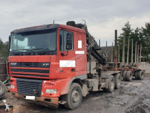 camion DAF XF95-530 6x4 Loglift 240 Holztransport