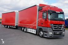 camion cu remorca n/a MERCEDES-BENZ - ACTROS / 2544 / E 5 / ZESTAW 120 M3 / MEGA SPACE + remorque