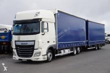 camion remorque DAF 106 / 460 / SSC / E 6 / ZESTAW PRZEJAZDOWY 120 M3