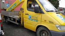camion nacelle articulée télescopique Mercedes