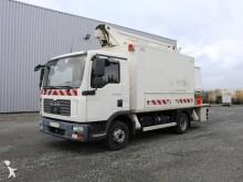 camião plataforma telescópico usado