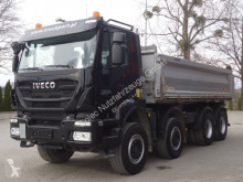 camión Iveco Trakker 450 8x4 EEV Dreiseitenkipper Meiller