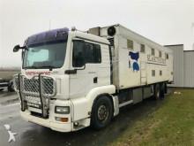 camião transporte de gados MAN