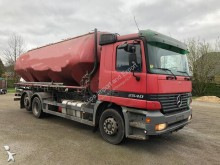 Mercedes powder tanker truck