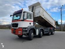 MAN half-pipe tipper truck