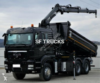 MAN two-way side tipper truck