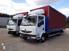 ciężarówka Renault Midlum 2x 220.12 Schiebeplane (Euro5 Luftfed.)