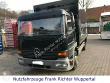 camião Mercedes 1223 Getränkeaufbau, Schwenkwandaufbau