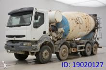 camião betão betoneira / Misturador Renault