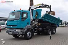 ciężarówka Renault 320 DCI KERAX / 2 STRONNA WYWROTKA + HDS PALFINGER