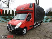 camião Renault MASTERPLANDEKA 10 PALET WEBASTO KLIMA TEMPOMAT PNEUMATYKA SERWI
