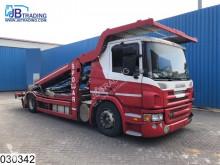 camion pentru transport autovehicule Scania
