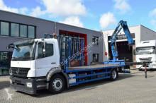 camion Mercedes Axor 1833 /Glastransporter / HLK TEREX 120.2E