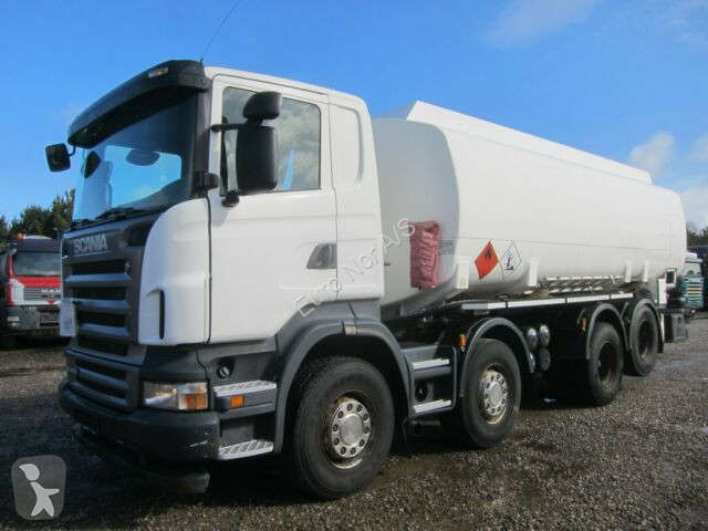 Voir les photos Camion Scania R480 8x2 23.800 L TANK ADR