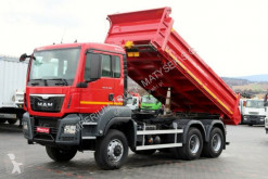 camion MAN TGS 26.400 / 6X6 / 3 SIDED TIPPER / MANUAL/E 6 /
