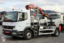camion Mercedes ATEGO 1524 / 4X2 / CRANE HMF 635 / CHASISS /