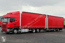 camion remorque Scania R 410 / JUMBO 120M3 / RETARDER / EURO 6 /