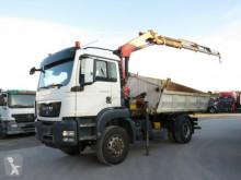 camião MAN TG-S 18.480 4x4 H 2-Achs Allradkipper Kran Greif