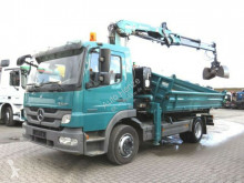 camião Mercedes Atego 1222 K 2-Achs Kipper Kran Greiferst.