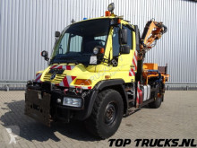 Mercedes Unimog U 300 Tipper, Lawn mower