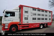 camião transporte de cavalos MAN