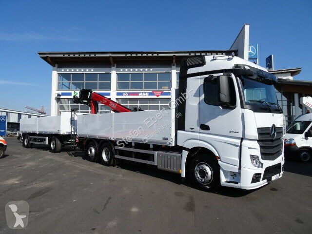 Super Neu Mercedes LKW Pritsche Bracken/Spriegel Actros 2745 L @QB_07
