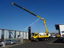 camion MAN TGS 26.400 6x4 Langarmkran 21,85m Winde + Funk