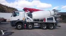 camião betão betoneira + bomba Mercedes