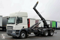camión DAF CF 85.460 / 6X2 / HOOKLIFT / GARNIER THL 20U /