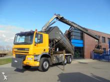 Ginaf X3335S / Tipper / Palfinger PK12.502 Crane / Hydraulic / Manual / NL Truck truck