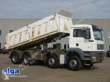 MAN 35.410,TGA 8x4,Meiller,Klima, Tempomat,4-Achser truck