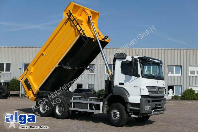 Vedere le foto Camion Mercedes 3340 Axor 6x4, 21 m³ Stahl, Schaltgetriebe!