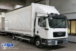 camion MAN 12.250 TGL, Gardine, 7,1 m. lang, 1,5 t. LBW.