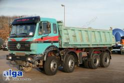 camion Mercedes 3538 K 8x4, Meiller, V8-Motor, Schalter, Blatt.