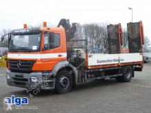Mercedes 1833 L Axor, Kran HIAB 099B-3, Rampen truck