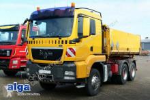 camion MAN 26.400 TGS, 6x4, Alu-Bordwände, AHK, Schalter.