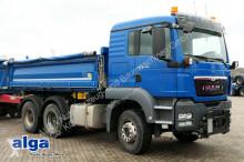ciężarówka MAN 26.440 TGS, 6x4, Klima, Meiller, Anbauplatte.