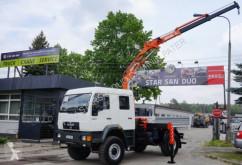 camion MAN 18.224 4x4 DoKa ATLAS 85.1 Kran