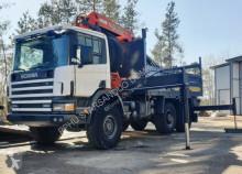 ciężarówka Scania 124 6x6 PALFINGER PK 35000 Cran Kran