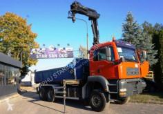 camião MAN 26.430 6x6 HIAB 144 2005 Kran Kipper Cran
