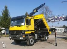 camion Mercedes 1848 4x4 PALFINGER PK 21000 Kran KIPPER