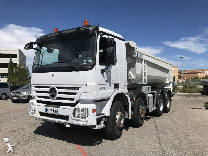 Used Mercedes Actros Construction Dump Truck 4141 8x4 Diesel Euro 4 N3150443