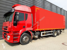 Iveco beverage delivery flatbed truck