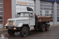 Terberg three-way side tipper truck