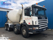 camion Scania 114 380 9000 Liter, Baryval, Steel suspension, Manual, Airco, Analoge tachograaf, Hub reduction