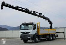 Renault Kerax 450DXI Pritsche 6,60m + Kran Topzustand! truck
