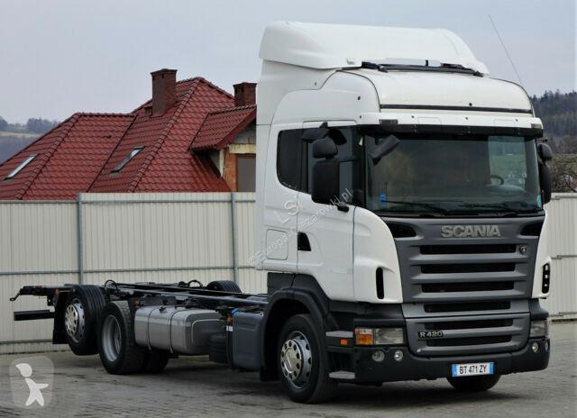 Voir les photos Camion Scania R420 Fahrgestell 7,50 m * EURO 5 * Topzustand!