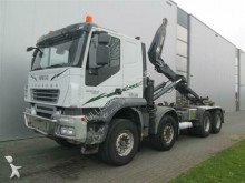 Iveco TRAKKER 340T450 8X4 HIAB HOOK ZF MANUAL truck
