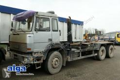 camión Iveco 260-34 AH 6x4, Abroller Gerken GRK 20.65, 340 PS