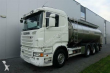 camion Scania R480 8X4 STEERING AXLE MILK TANK